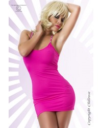 Pink Dress with jewel shoulder strap - Will be discontinued