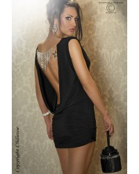 Dress With Jewelery in Black
