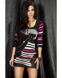 Jazzy Dress in Pink or Red