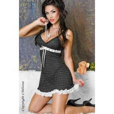Babydoll With Cute White Spots