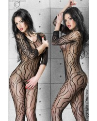 Predator Bodystocking In Black