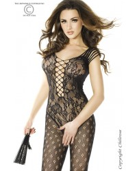Bodystocking In Black Lace