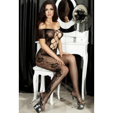 Cross Lace Bodystocking