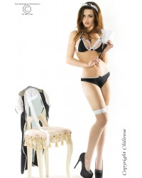Misbehaving French Maid