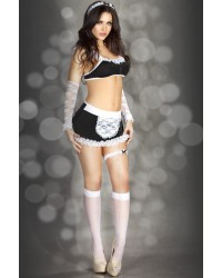 Black and White Lace Maid Set - will be discontinued